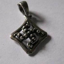 silver sq pendant 3
